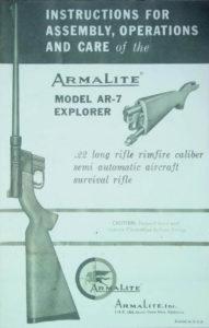 Il manuale di istruzioni originale per uso, assemblaggio e mantenimento fornito con l'arma