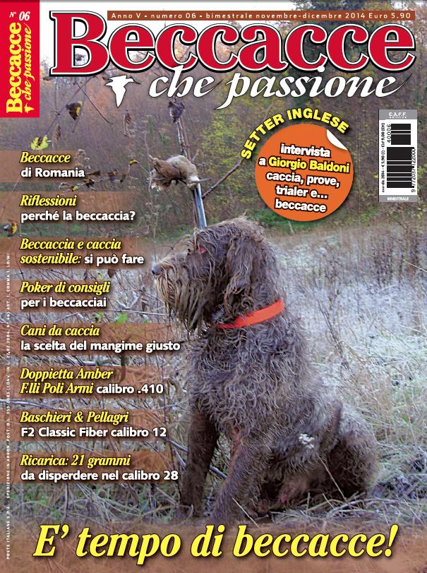 Beccacce che Passione n° 6 novembre-dicembre 2014