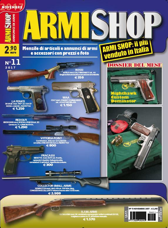 Armi Shop Novembre 2017