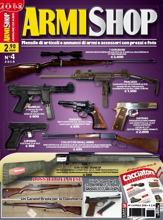 Armi Shop aprile 2018