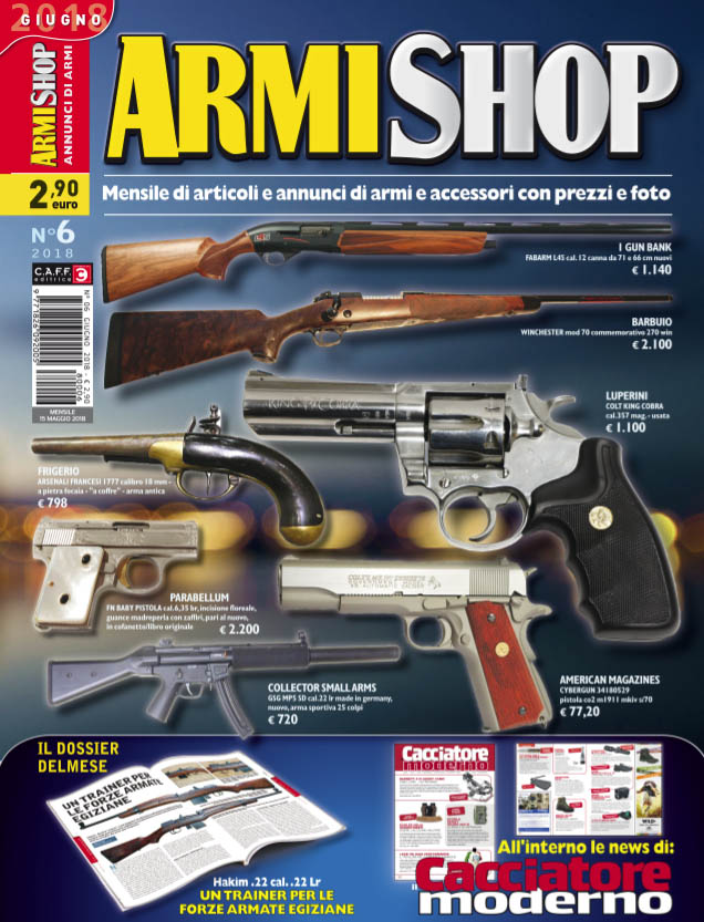 Armi Shop giugno 2018