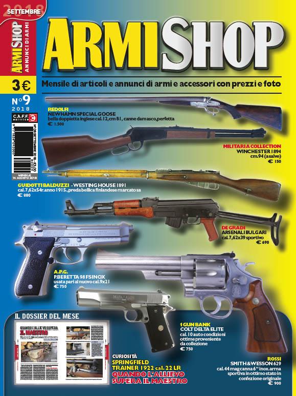 Armi Shop settembre 2018