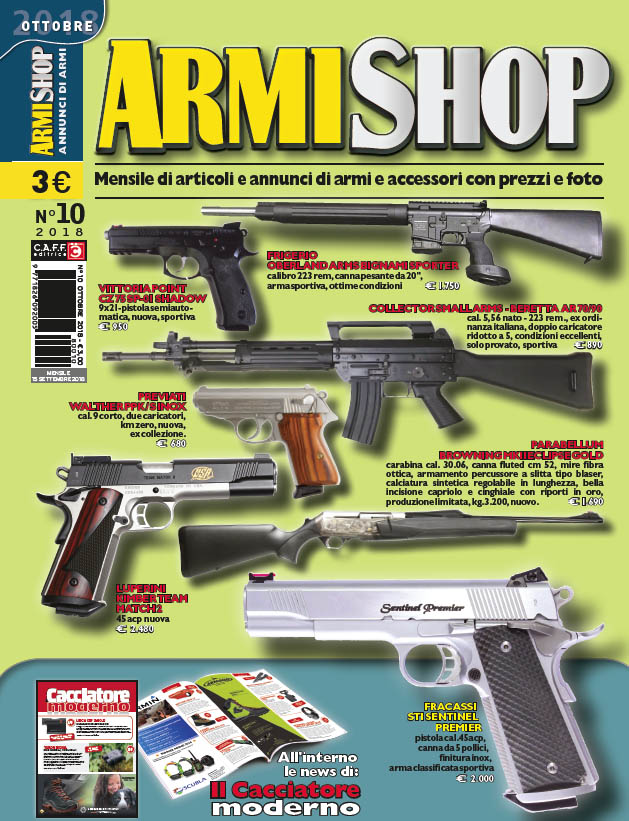 Armi Shop ottobre 2018