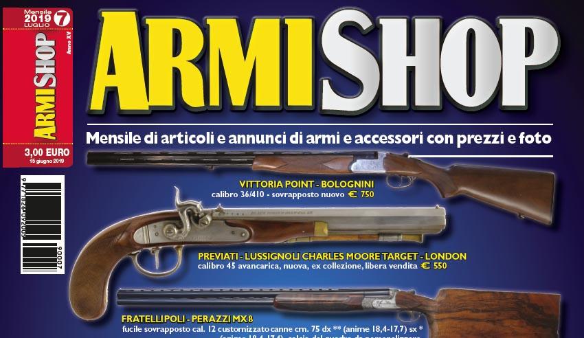 Armi Shop luglio 2019 bis