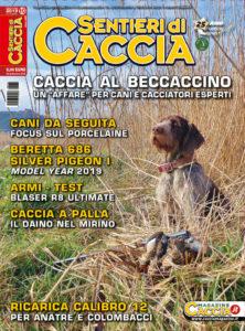 copertina Sentieri di Caccia ottobre 2019